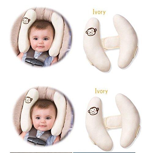 Queta Toddler Car Seat Headrest Cushion Pillow Comfortable Baby Infant Head Neck Rest Pop