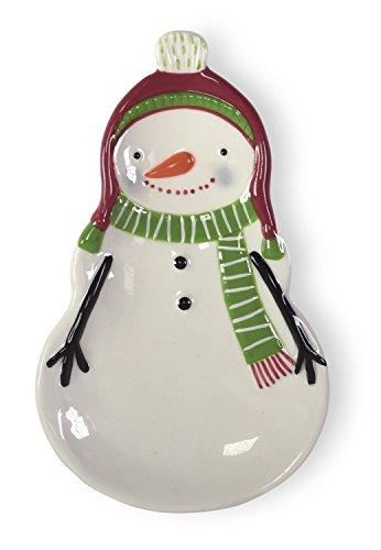 Snowman Spreader Set (Boston International BIP16846 Snowmen Spoonrest, Sweaterific)