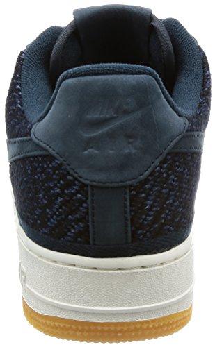 Nike Air Force 1 07 Indigo - 917825400 - Colore: Azzuro-Blu Marino - Taglia: 45.0