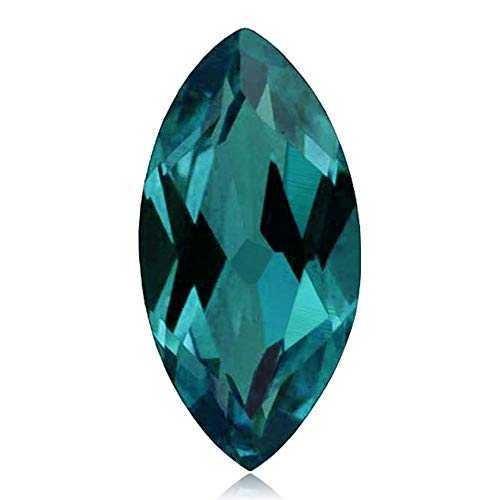- Mysticdrop 0.093-0.113 Cts of 4.0x2.0 mm AAA Marquise Cut Lab Created Alexandrite (1 pc) Loose Gemstone