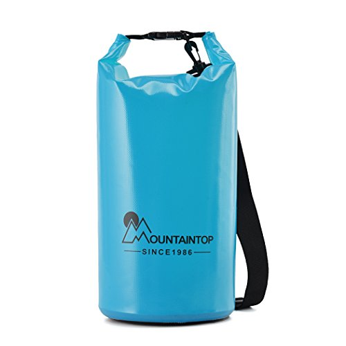 Mountaintop-5L10L20L-Lightweight-Waterproof-Dry-Bag-Floating-Dry-Gear-Bags-Backpacks-for-BoatingKayakingFishingBeachRaftingSwimmingCampingCanoeing-and-Snowboarding-with-Shoulder-Strap