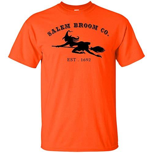 Salem Bloom Co. Est 1692 Halloween Orange T