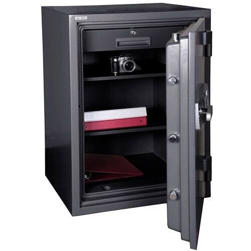 Hollon Safe HS-880E (2.43 Cubic Feet) - Fireproof Office Safe by ENNO (Image #1)