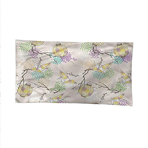 Lanternocean tapestrylarge tapestryColorful Origami Cranes 80W x 60L - Origami 80