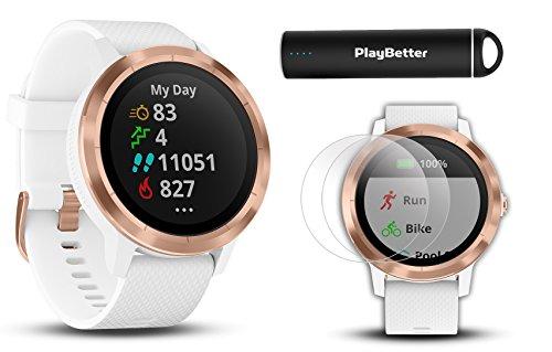 Garmin vivoactive 3  Fitness GPS Watch Power Bundle   Includ