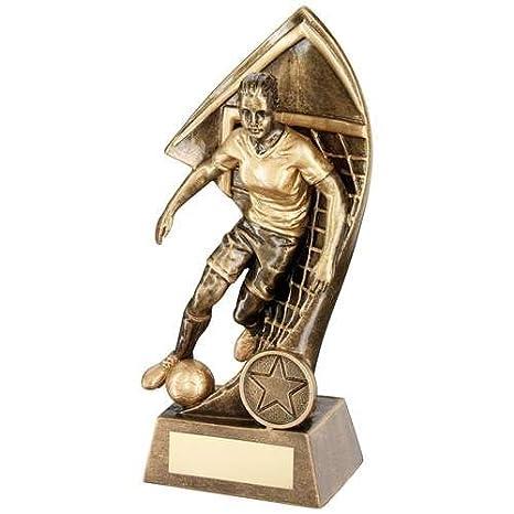 TrophyMaker UK Balón de fútbol y galardón de red Wembley con ...