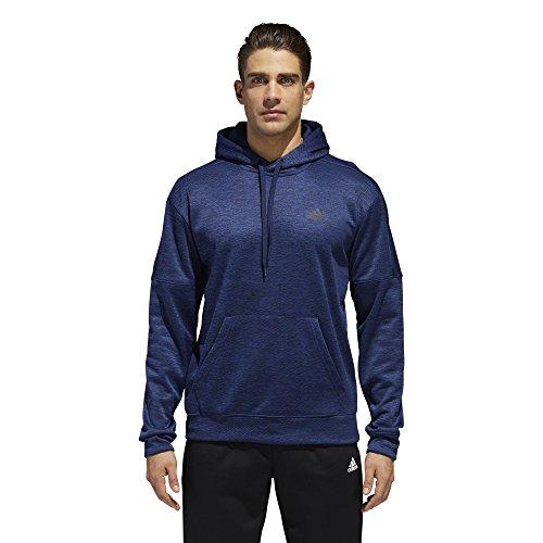 adidas Men's Athletics Team Issue Full-Zip Hoodie, Collegiate Navy Melange, Small ()