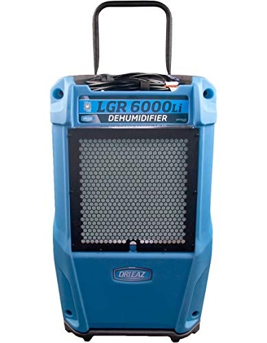 Dri-Eaz LGR 6000 Commercial Dehumidifier with Pump, Industrial, Durable, Portable, Blue, F600, Up to 25 Gallon Water…
