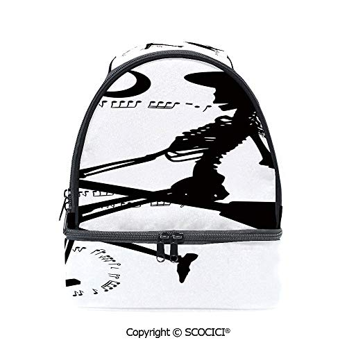 SCOCICI Large Capacity Durable Material Lunch Box Witch