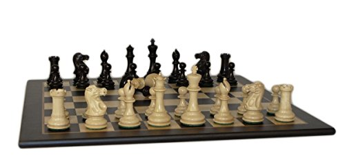 WorldWise Chess Set with Madrona Burl Board - 40BNCDQ-BM