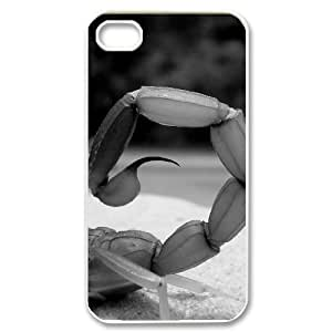 Hard Shell Case Of Scorpion Customized Bumper Plastic case For Iphone 4/4s