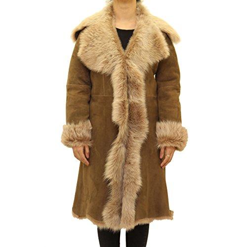 Manteau En Daim Z 3 Femmes Castor Pas Pour 4 To Cascade Disponible Long A De Avec Leather Capot Les Ixw7OP