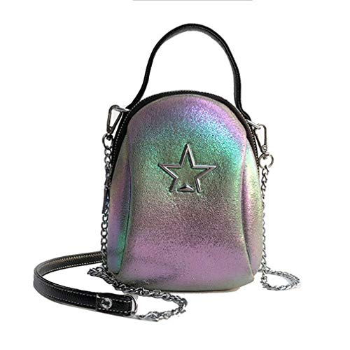 en bandoulière Femme Cuir Star PU Sac 14cm8cm18cm à Golden Bag Golden aOSq7Wtw
