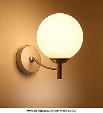 Ggrxa Vintage Industrial Style Wandleuchte Wandleuchte Lampe Spiegel