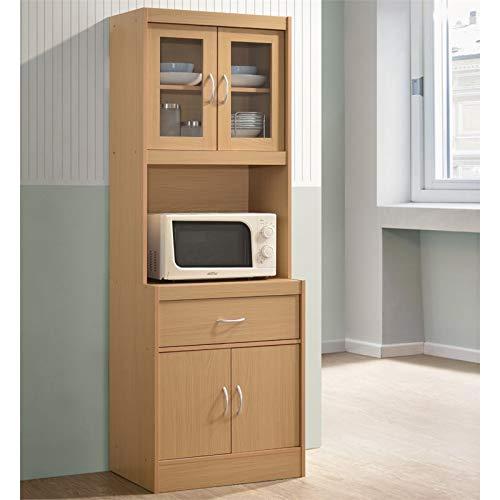Pemberly Row Kitchen Cabinet in Beech