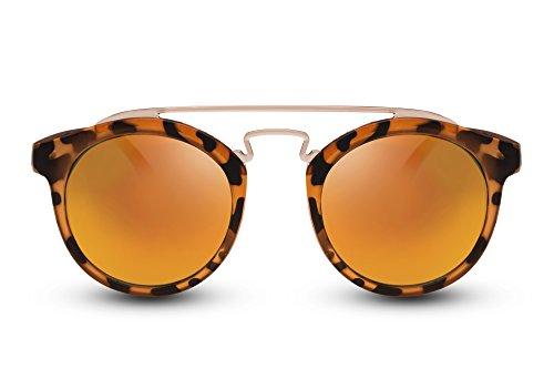 Sol Lentes Espejadas Negras Gafas Rojas Redondas Cheapass UV400 de Unisexo Gafas Ufw8ExxqOB