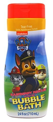 Paw Patrol Bubble Bath 24 Ounce Raspberry Rescue (709ml)