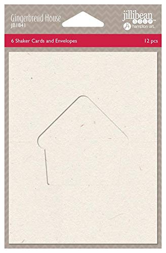 (Jillibean Soup Shape Shakers Shaker Card Base - Gingerbread House)
