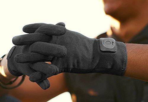 Vibrating Arthritis Gloves - Medium by Brownmed, Inc (Image #2)