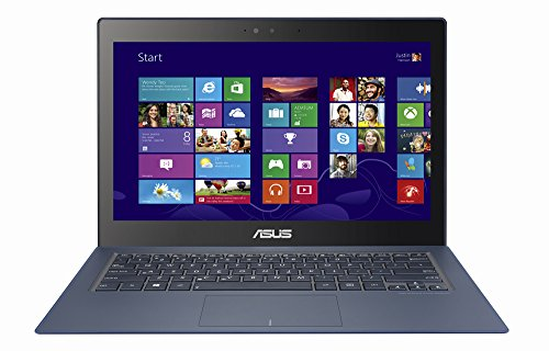 "ASUS Zenbook 13.3"" WQHD 2560 x 1440 Touchscreen Ultrabook Laptop, Intel Core i7-5500U 2.4 GHz, 8GB RAM, 256GB SSD Backlit Keyboard 802.11ac Bluetooth Webcam HDMI HD Graphics 5500 Windows 10"