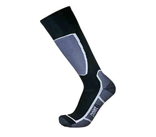 Point 6 Ski, Medium, OTC, Black, Extra Large with a Helicase sock ring