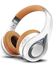 ELEGIANT Auriculares Bluetooth Diadema Cascos Inalámbricos con Micrófono Super-Livianos Sonido Nítido Cancelación Ruido Estéreo Manos Libre de 16 Horas de Uso para Samsung iPhone Huawei Xiaomi Negro