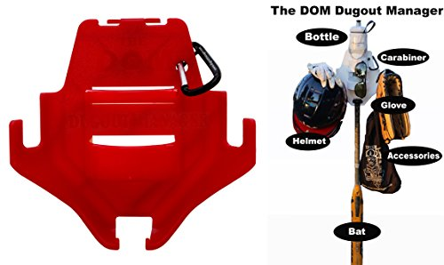 nnovations Dugout Organizer - the DOM Red ()