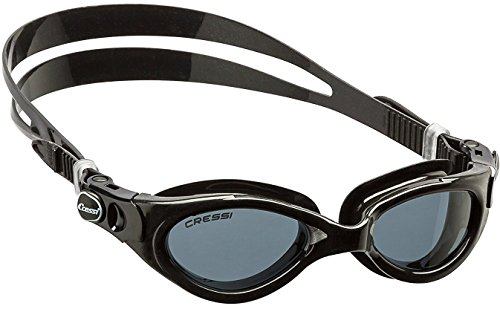 Adult Lady Swim Goggles Available in Tinted Lens | FLASH LADY made in Italy by Cressi: quality since 1946
