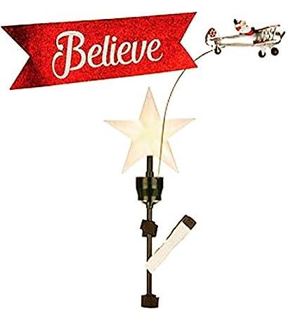 Mr. Christmas Animated Tree Topper - BIPLANENEW-2018 Item No. 49311 - Amazon.com: Mr. Christmas Animated Tree Topper - BIPLANENEW-2018
