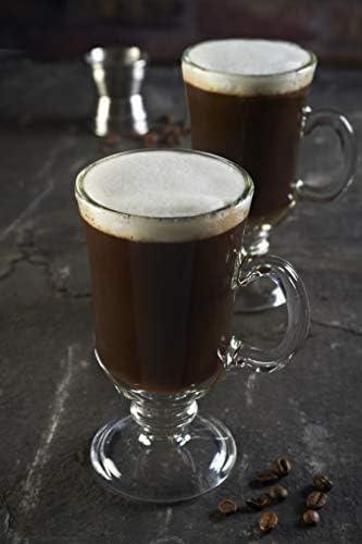 Ravenhead Set Of 2 Irish Latte Glass Set W11 X D8 X H14cm