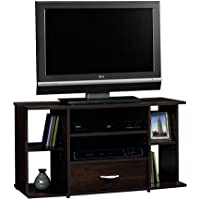 Sauder Beginnings Panel TV Stand, Cinnamon Cherry