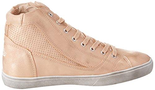 Lico Damen Treasure Hohe Sneaker Gold (Rosegold)