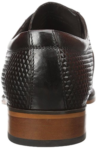 Stacy Adams Hombres Kallan Plain Toe Lace Oxford Marrón