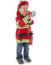 Melissa & Doug 4834 Fire Chief Role Play Costume Dress-Up Set