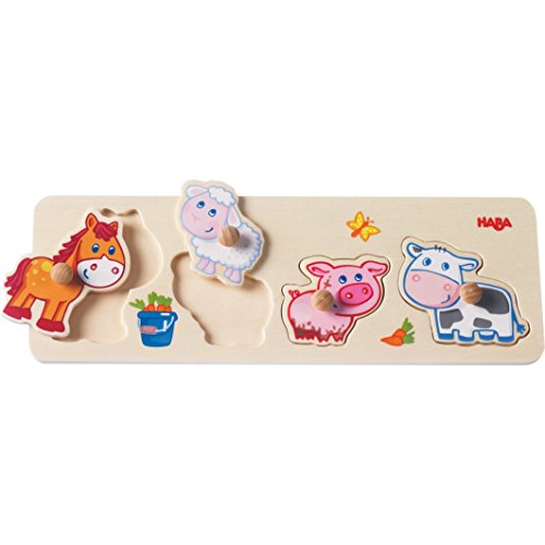 HABA Baby Animals Clutching Puzzle