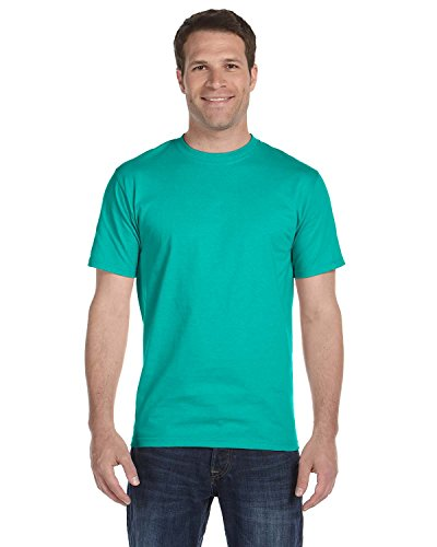 Jade Heavyweight T-shirt - Gildan Men's Dryblend Moisture Wicking T-Shirt, Jade Dome, S