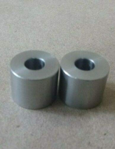 """1/4"""" ID x 5/8"""" OD X 1/2"""" Long Stainless Steel 303 Standoff Spacer SPACERS BUSHINGS (2pcs.)"""
