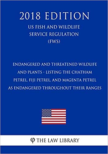 Endangered and Threatened Wildlife and Plants - Listing the Chatham