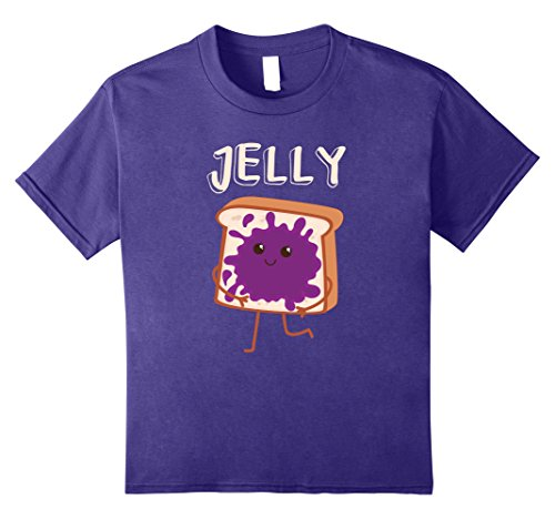 Kids Jelly Matching Couples Halloween T-Shirts 2017 12 Purple (Best Halloween Costumes Couples 2017)