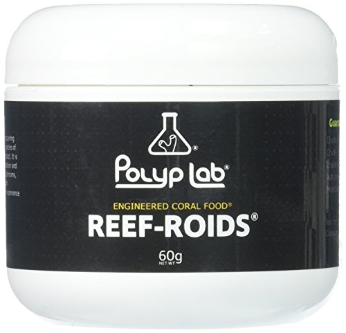 Polyplab - Reef-Roids- Coral Food For Faster Growing - 60g (Best Food For Zoanthids)