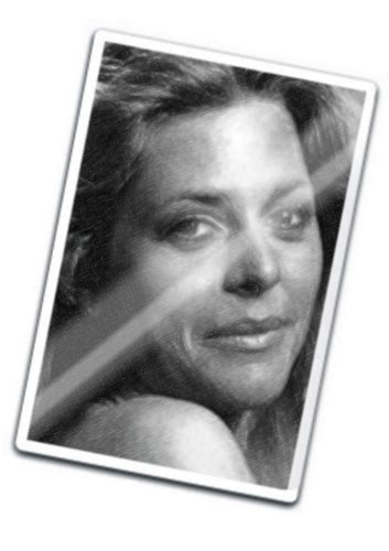Seasons LINDSAY WAGNER - Original Art Fridge Magnet #js003
