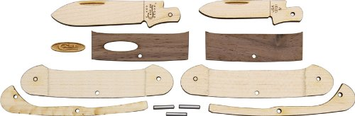 (Wooden Knife Kit Canoe)