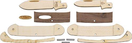 Wooden Knife Kit Canoe