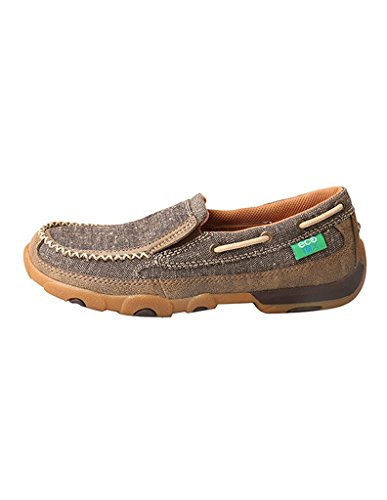 Twisted X Womens Women'S Eco twx Slip-On Driving Moccasins Moc Toe - Wdms009 Dust 3HVHc