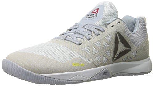 Reebok Women's Crossfit Nano 6-0 Cross-Trainer Shoe, Polar Blue/Cloud Grey/White/Black/Pewter, 7.5 M US