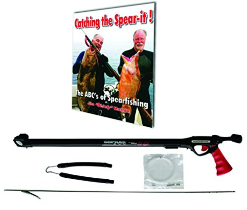Sopras Sub High Precision Rubber Band SpearGun Spearfishing Spear Gun 60cm (24 in) with The ABC's of Spearfishing BOOK.