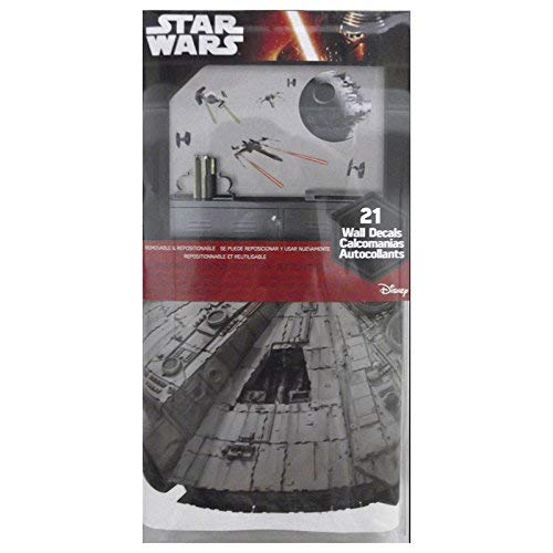 RoomMates Star Wars Classic Spaceships Peel and Stick Wall Decals by RoomMates (Image #4)