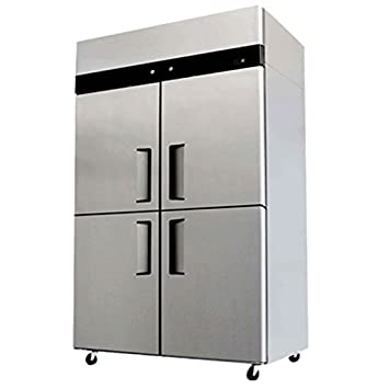 Captivating 4 Door Refrigerator Freezer Combo Commercial Stainless Steel YBL9342