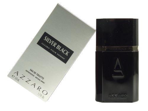 Azzaro Silver Black By Azzaro For Men. Eau De Toilette Spray 1.7 (Silver Black Eau De Toilette)
