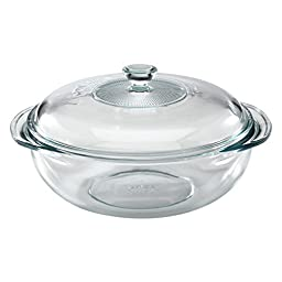 Pyrex Bakeware 2-Quart Casserole Dish with Lid (Set of 6)